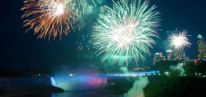 Niagara Falls New Years Eve Package