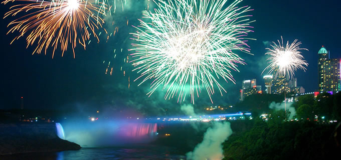 Niagara Falls New Year's Eve