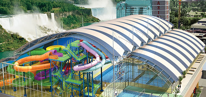 Directly Connected to Fallsview Indoor Waterpark