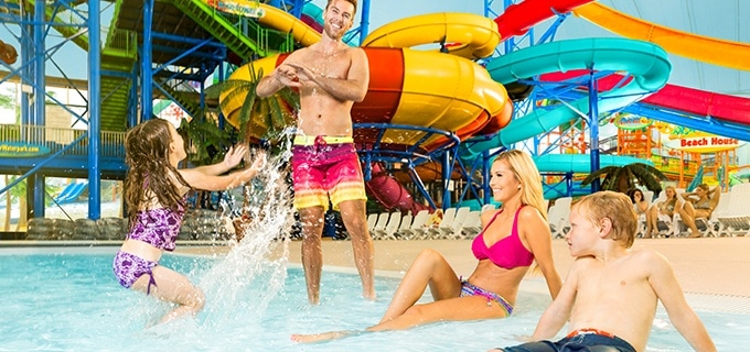 Fallsview Indoor Waterpark Family At Wavepool