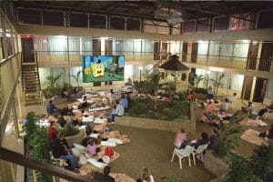 Family Movie Night at the Skyline Hotel & Waterpark is one of many winter movie events in Niagara.