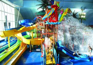 Fallsview Indoor Waterpark is a great destination for Family Day in Niagara Falls.