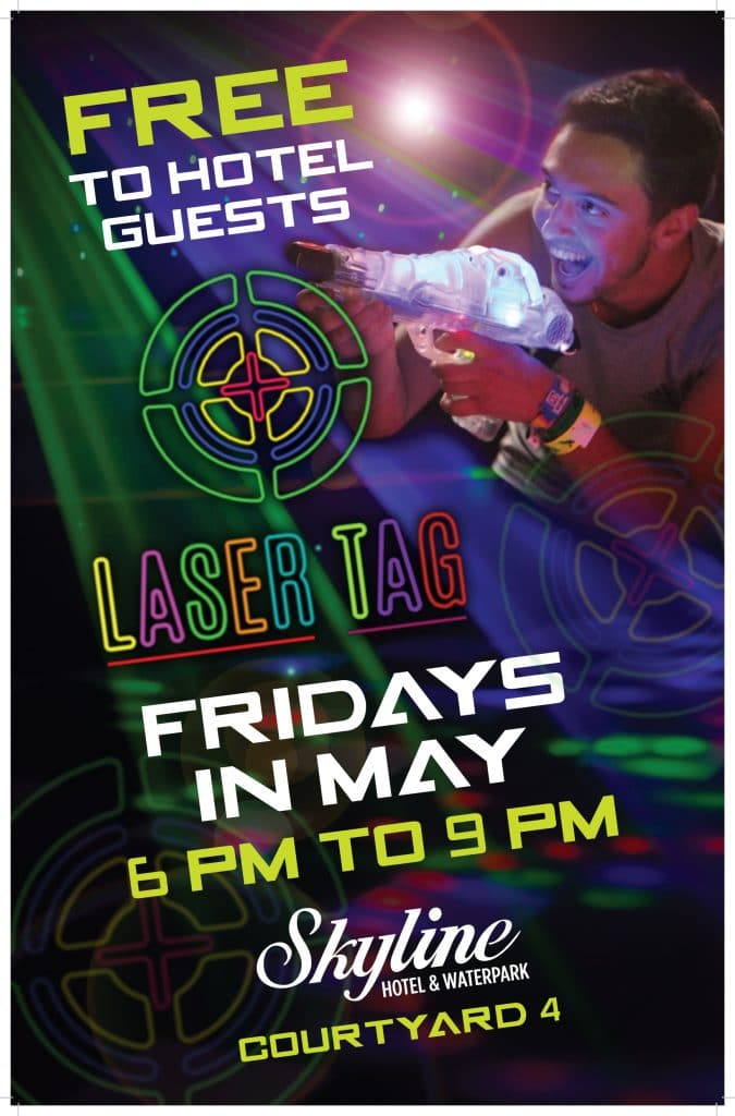Laser Tag Fridays in May